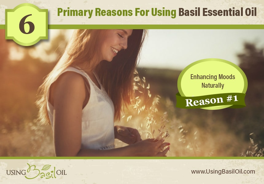 what is basil essential oil used for