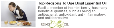 basil oil for nausea