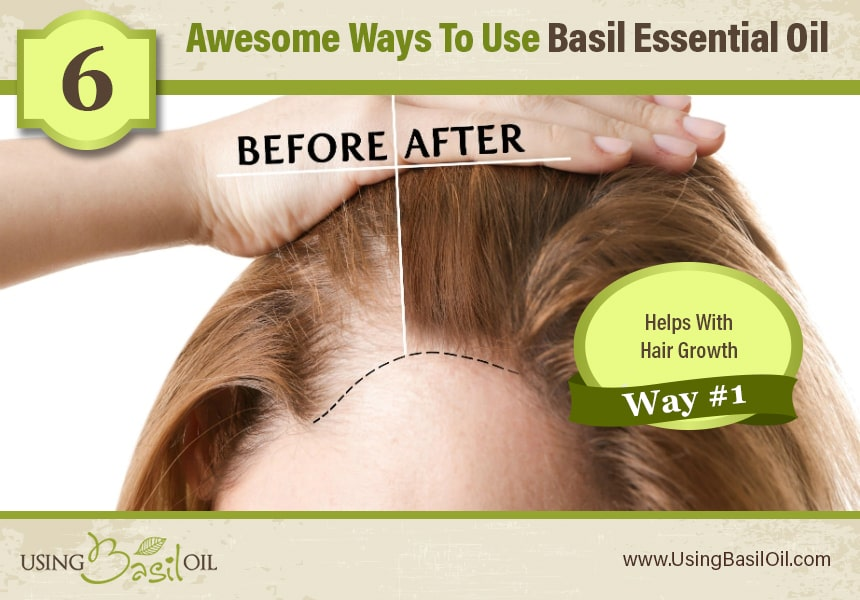 basil oil for hair