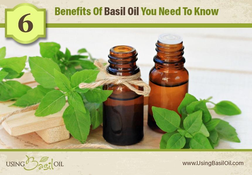 basil oil for acne